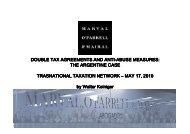 Walter Keiniger - TTN Transnational Taxation Network