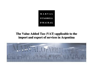 The Value Added Tax (VAT) applicable to the import and export of ...