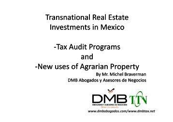 Michel Braverman – DMB Abogados y Asesores, Mexico - TTN ...