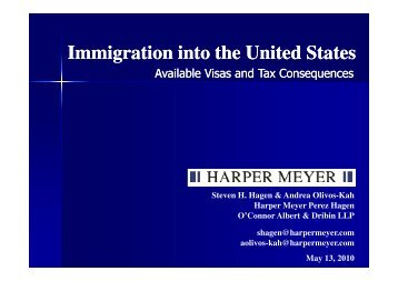 Immigration into the United States