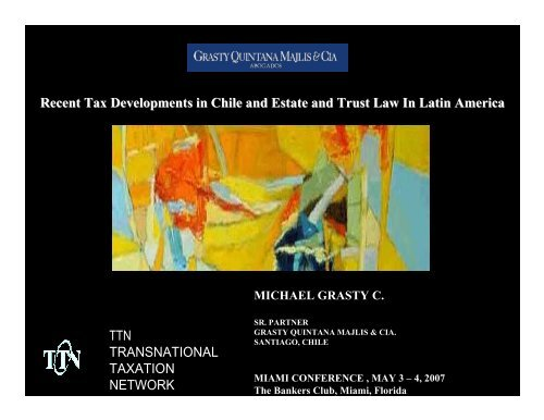 chilean tax structure - TTN Transnational Taxation Network