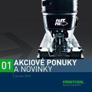AKCIOVÉ PONUKY A NOVINKY - Festool