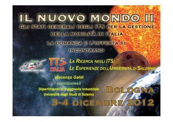 Vincenzo Galdi - Università di Salerno - Club Italia