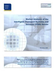 Market Analysis of the Intelligent Transport Systems and ... - TTS Italia