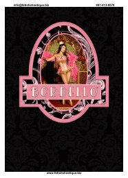 Fetish Shoetique- Bordello Collection V1