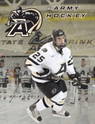 Army Hockey Media Guide.indd - Community - CBS Sports Network