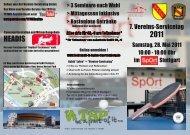 Flyer zum Vereins-Servicetag 2011 - TTVWH