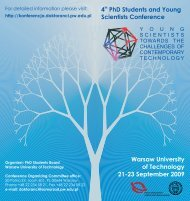 4 PhD Students and Young Scientists Conference ... - TU Berlin