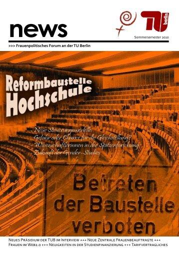- Neue Steuerungsmodelle: Gefahr oder Chance für die ... - TU Berlin