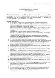 Hinweise zur Masterarbeit - TU Berlin