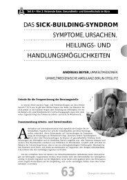 DAS SICK-BUILDING-SYNDROM SYMPTOME ... - TU Berlin