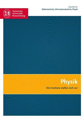 Physik - Technische Universität Braunschweig