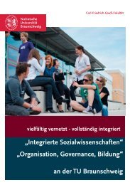 Broschüre - Technische Universität Braunschweig