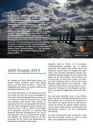 ADH-Trophy 2013 - Technische Universität Braunschweig