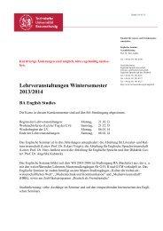 Kurskommentar Bachelor WS 13/14 (alt) - Technische Universität ...
