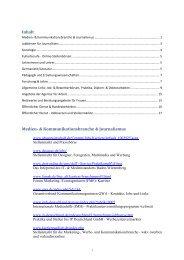 Linkliste - Technische Universität Braunschweig