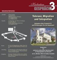 Faltblatt Krobnitzer Gespräche 3 - Technische Universität Chemnitz