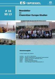 ES-Spiegel Nr.16.pdf - Technische Universität Chemnitz