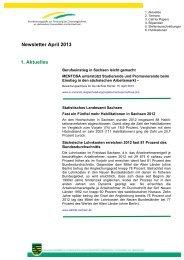 Newsletter April 2013 1. Aktuelles - Technische Universität Chemnitz