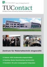 2. Ausgabe 2013 - TU Clausthal