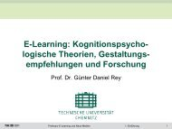 Einführung - Technische Universität Chemnitz