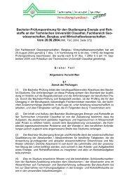 Bachelor-Prüfungsordnung für den Studiengang Energie und Roh ...