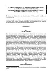 6.20.45 Studienordnung für den Diplomstudiengang Chemie an der ...