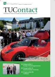 1. Ausgabe 2010 - Technische Universität Clausthal