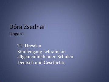 Dora Zsednai - TU9