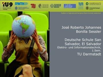 José Roberto Johannes Bonilla Sessler - TU9