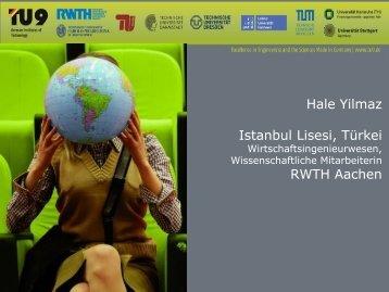 Hale Yilmaz - TU9