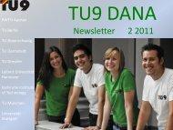 TU9 DANA Newsletter 02/2011