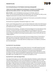 Diese Pressemitteilung als PDF downloaden - TU9