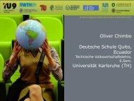 Oliver Chimbo - TU9