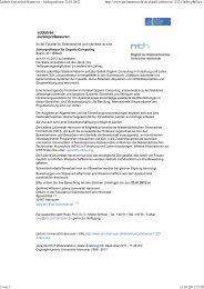 Leibniz Universität Hannover Stellenangebote - TU9