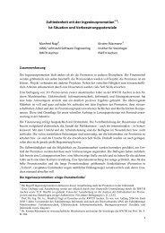 Zufriedenheit mit der Ingenieurpromotion : Ist-Situation und ... - TU9