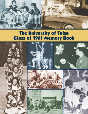 Class of 1961 Memory Book - TUAlumni.com
