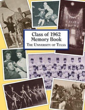 Class of 1962 Memory Book - TUAlumni.com