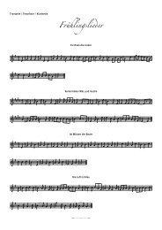 Frühlingslieder - Tubaforum