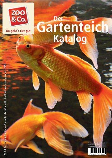 Gartenteichkatalog Seite 1-35 - ZOO & Co.