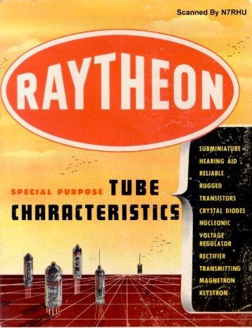 Raytheon Special Purpose Tubes