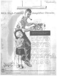 RCA High Fidelity Amplifier Circuits - tubebooks.org