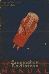 The RCA Radiotron Manual - tubebooks.org