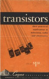 Transistors - Coyne - tubebooks.org