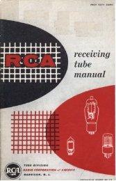 1954 RCA RC-17 Receiving Tube Manual - tubebooks.org