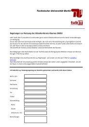 Bitte beachten Sie die Nutzungsbedingungen ... - tubIT - TU Berlin