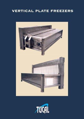 Brochure of vertical plate freezers (PDF) - Tucal