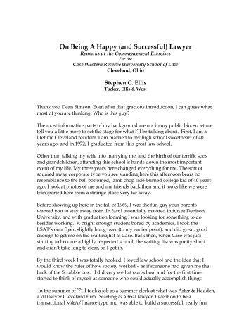 View as PDF - Tucker Ellis | LLP