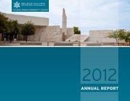 2012 Annual Report - Tucson Jewish Community Center