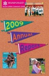 2009 Annual Report - Tucson Jewish Community Center